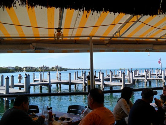 Island Fish Company : View from restaurant
