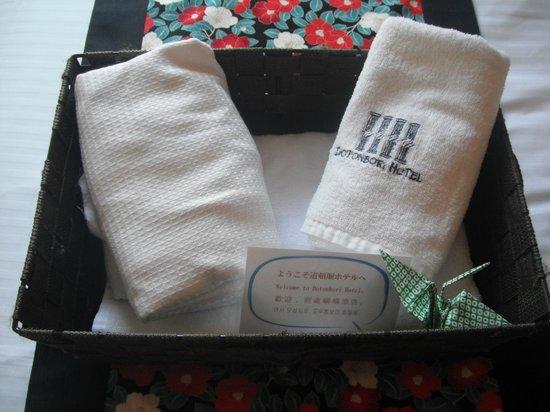 Dotonbori Hotel: extra towels