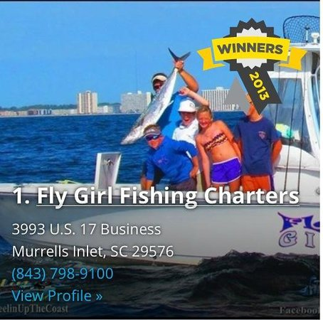 Reel fly girlz fishing charters murrells inlet sc omd men for Murrells inlet fishing charter