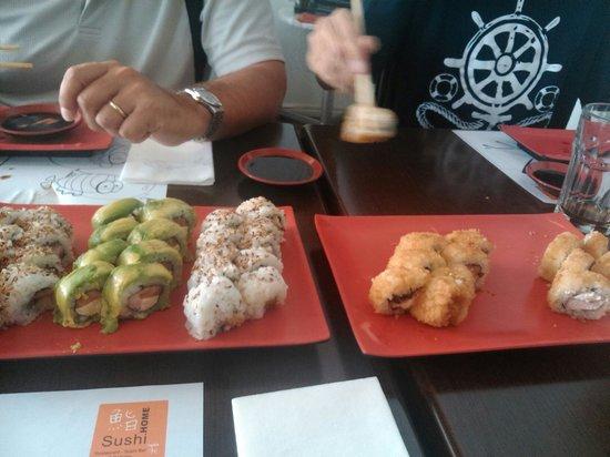 Sushi Home: Exquisito!!
