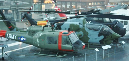 Intrepid Sea, Air & Space Museum : Copters