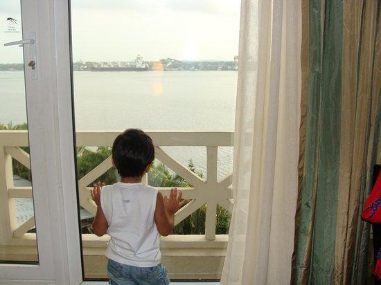 The Gateway Hotel Marine Drive Ernakulam: Sea View
