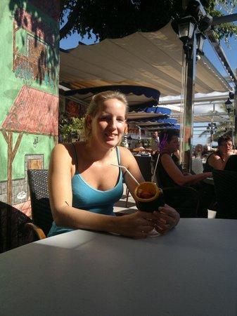 El Capitan Restaurante: Sangria på El Capitán, San Agustin