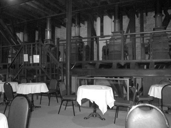 Hospederia Conventual de Alcantara: Petit déjeuner dans un vieux moulin
