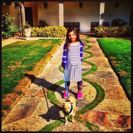 Ojai Valley Inn & Spa: Definitely a good spot for kids and pets