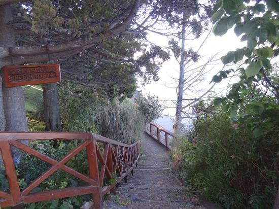 Costa Brava Apart Hotel: paseo de la costa