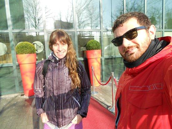 Qbic Hotel Amsterdam WTC: Disfrutando en Amsterdam