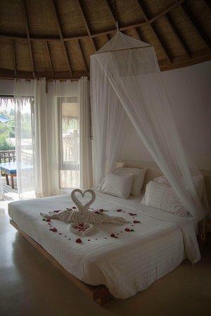 Aana Resort & Spa : Украшение в медовый месяц