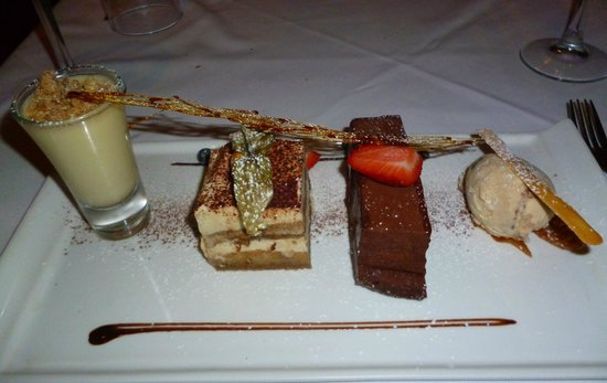 Bistro21: The mouth watering dessert selection