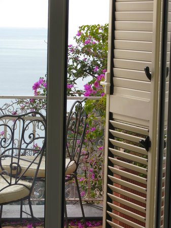 Positano Art Hotel Pasitea: view in wonderfull positano hotel