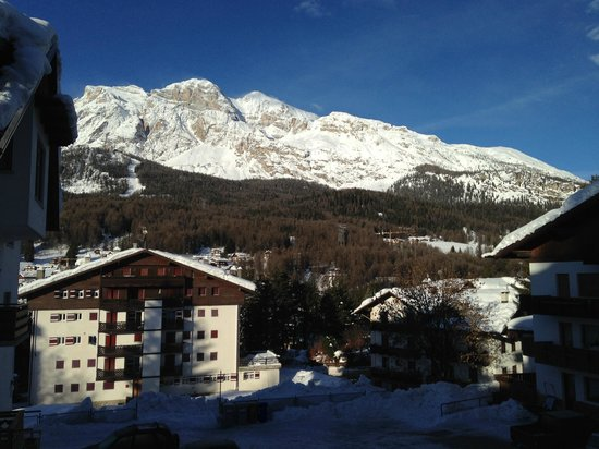 Hotel Natale: View from room terrace.