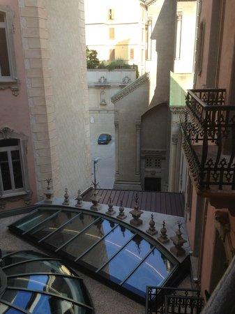 Chateau Monfort: вид из окна