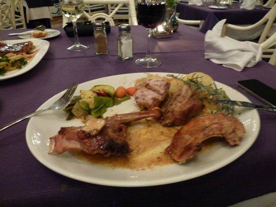 Cafe La Ola : Grilled Rabbit