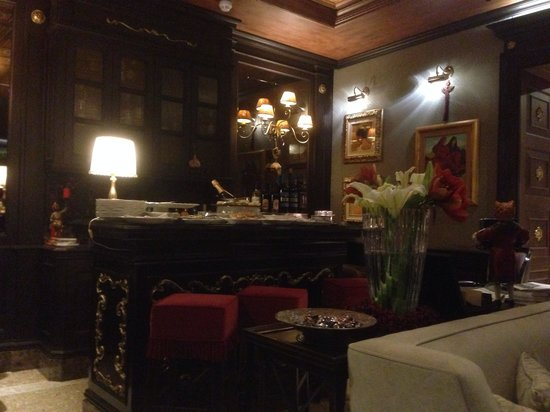 Hotel Moresco: Lounge bar