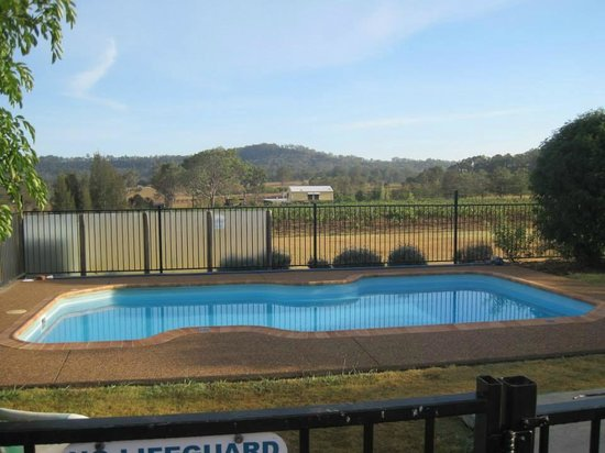 Bluebush Estate: The pool