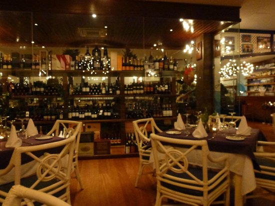 Cafe La Ola : The wine selection
