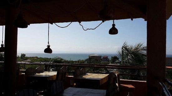 Hotel Atti: Vista desde el restaurante