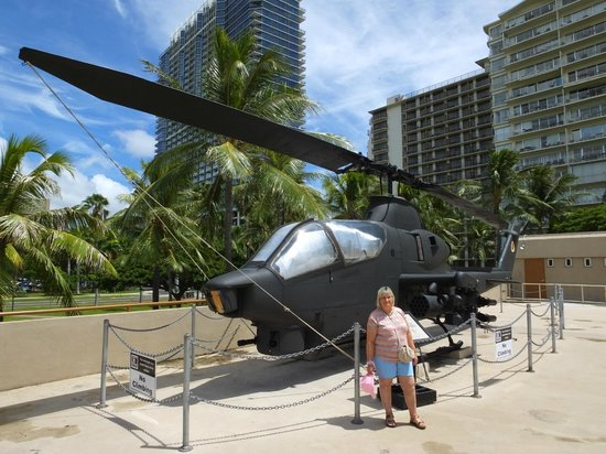 US Army Museum of Hawaii: An AH-S1 Helicopter..!