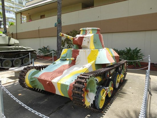 US Army Museum of Hawaii: Japanese WWII  Tank..!