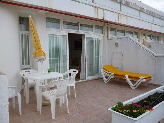 Muthu Clube Praia da Oura: Terrace 1 bedroom room 735
