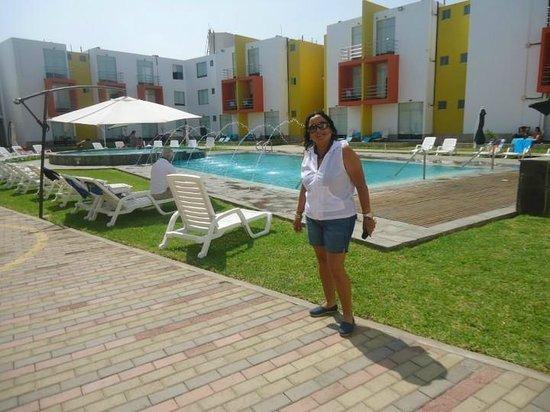 Huacho, Peru: En el Hotel Kajaca..Relax Total ¡¡¡¡