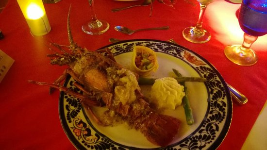 Hotel Cuna del Angel: New Year's Eve Lobster Dinner