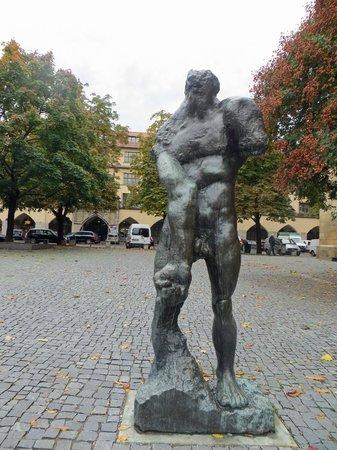 Stuttgart Steps Tours: Outsid ethe Old Schloss