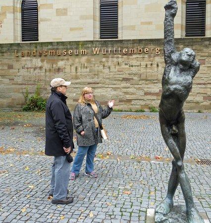 Stuttgart Steps Tours: Oustide the Old Schloss