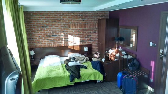 Hotel Artus: We messed it up a bit but a fantastic room