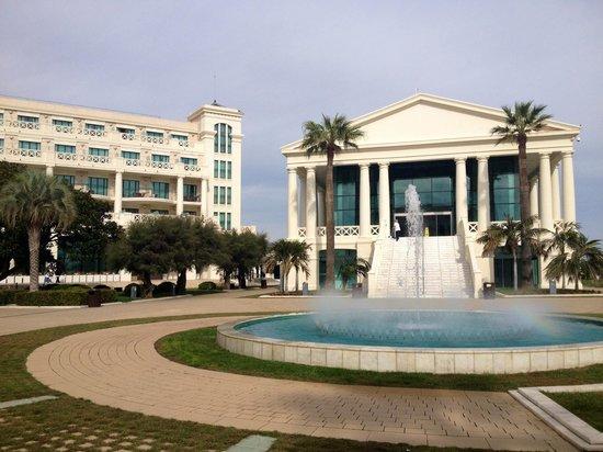 Hotel Las Arenas Balneario Resort: Vistas de la parte trasera del hotel