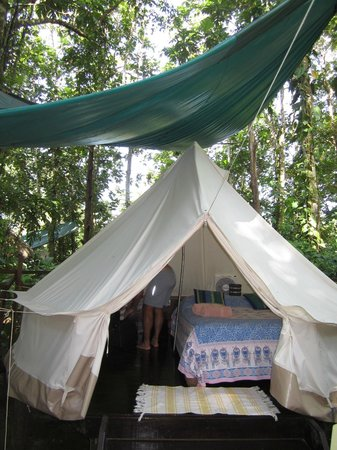 Palmar Beach Lodge : tent