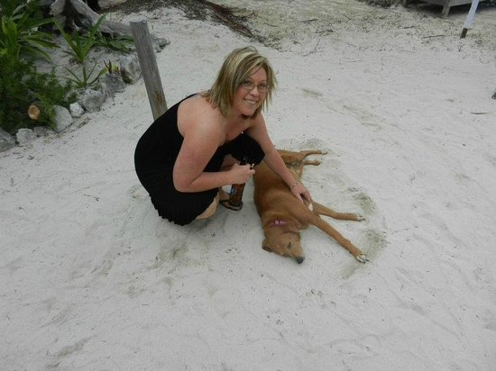 Maya Chan Beach: Me and Coco