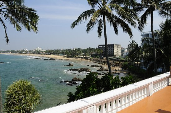 Mount Lavinia Hotel: View from hotel