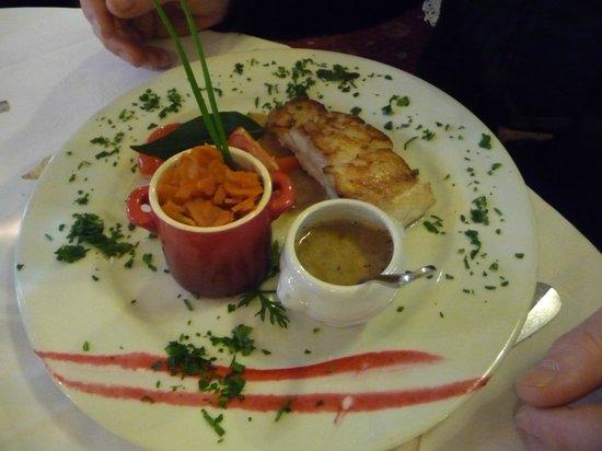 Restaurant des Cours : Le poisson bien frais et bien cuit