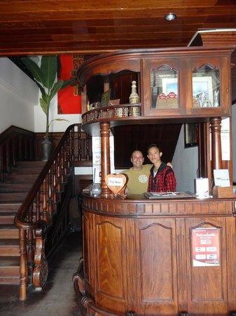 Vangsavath Hotel: l'entrée