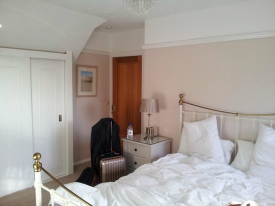 Halwell Lodge: Bedroom
