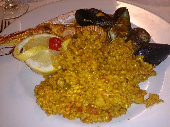 Restaurante Es Forat : Paella de marisco