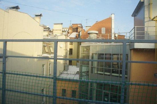 Cronwell Inn Stremyannaya: Вид из окна