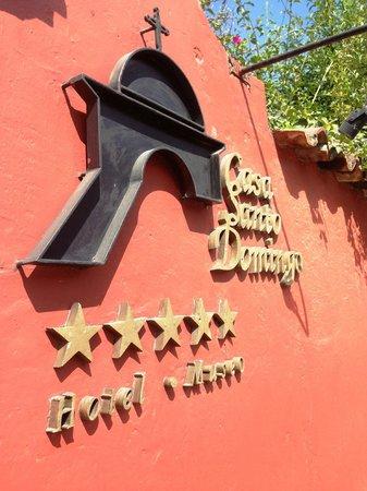 Casa Santo Domingo: Entrada Pedestres