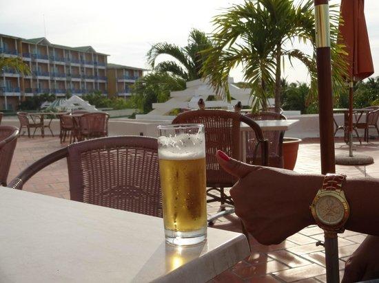 Meliá Las Antillas: Cerveja muito boa
