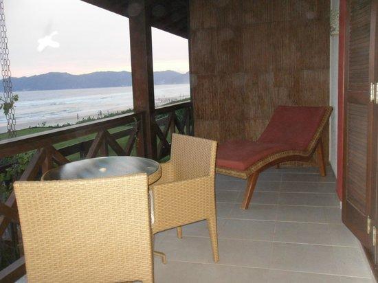Refúgio Das Galés: comodidades del balcon