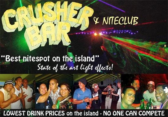 Crusher Bar: A fun place to be