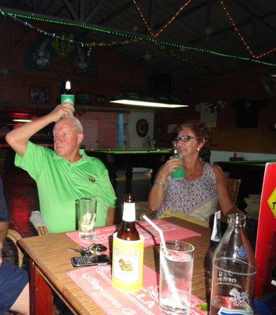 U-Turn : Roy needing another beer!!