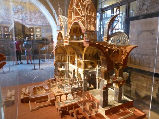 Basílica de San Marcos: Maquete da catedral de San Marco (Veneza)