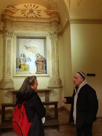 Sacro Monte di San Vivaldo : Annunciation in San Vivaldo