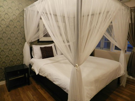 Mandala Boutique Hotel: Room 36 Sleeping Area