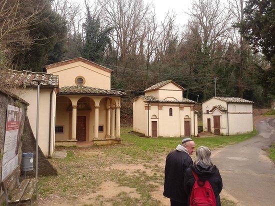 Sacro Monte di San Vivaldo : The Chapels in the Holy Mount in San Vivaldo