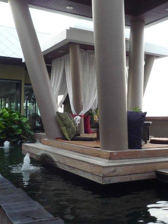 Nouvo City Hotel : terraza
