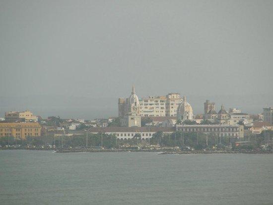 Hotel Dorado Plaza: Vista desde la habitación