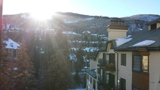 The Charter at Beaver Creek: The view from the dining room balconing